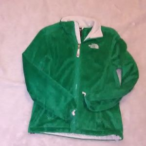 The North Face Green Sweatshirt Small